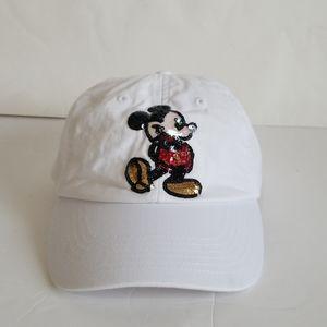 Disney Parks Adjustable Mickey Mouse Baseball Cap
